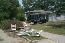 Damage example Madison 2004